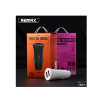 Remax RCC-217 Rocket Car Charger 2.4A White