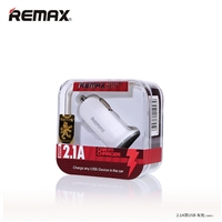 Remax RCC201 Mini Car Charger 2.1A  White