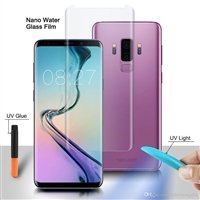 Galaxy Note 9 Nano Liquid UV Light 3D Full Glue Tempered Glass