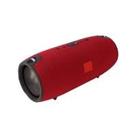 Xtream Portable Splash Proof Wireless Bluetooth Speaker Medium Red