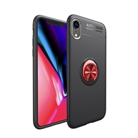 Redmi Note 5 Autofocus 360 Shockproof Case With Ring Holder Red