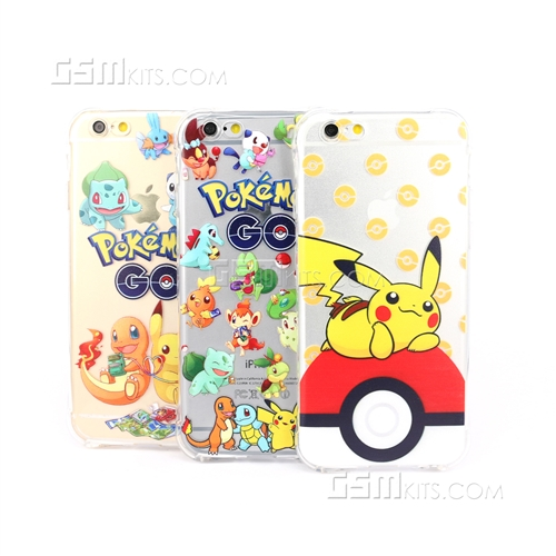 iphone 6 6s gel case pokemon mix design