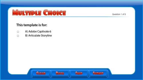 Adobe Captivate 6 and 7 Pop Quiz Template