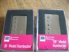 SMOKEY B'S SEYMOUR DUNCAN HUMBUCKER PICKUP SET SH-4 JB SH-1 59 NICKEL COVERS