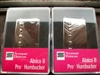 SMOKEY B'S SEYMOUR DUNCAN HUMBUCKER PICKUP SET ALNICO II PRO APH-1N AND APH-1B NICKEL COVERS