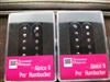 SMOKEY B'S SEYMOUR DUNCAN HUMBUCKER PICKUP SET ALNICO II PRO APH-1N AND APH-1B BLACK