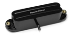 Seymour Duncan SHR-1b Hot rails for Strat (black)