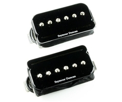 Seymour Duncan SHPR-1s P-Rails Neck and Bridge Pickup Set, Black