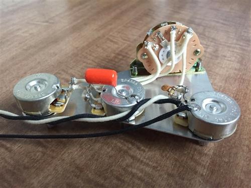 lindy fralin blender treble bleed mod wiring harness upgrade for fender strat. Black Bedroom Furniture Sets. Home Design Ideas