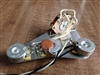 Eric Johnson Wiring Harness for Fender Stratocaster 300k CTS Pot .1uf Cap 5 Way