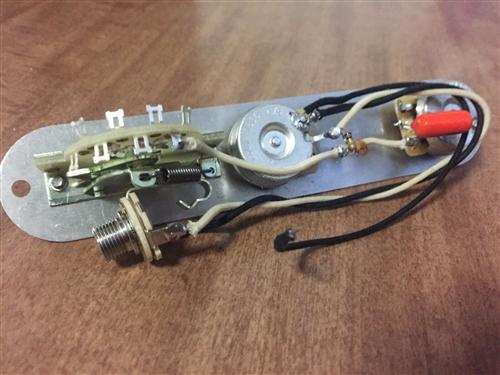 Fender Nashville Telecaster Wiring Harness Upgrade CTS CRL Switch Orange  DropSmokey B's