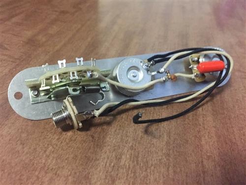 Fender Nashville Telecaster Wiring Harness Upgrade CTS CRL Switch Orange on