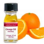 Natural Orange Oil - 1 Dram