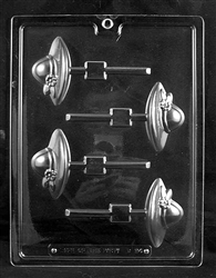 Ladies Society Hat Lolly Mold