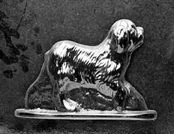 3D Large Old English Sheepdog Chocolate Mold