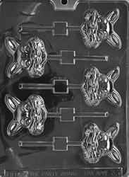 Happy Bunny Lolly Mold