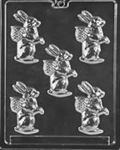 Bunny with Egg Basket Mold easter