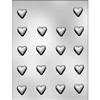 7/8-Inch Plain Mini Heart Chocolate Mold