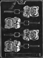 Lop-Eared Bunny Lolly Mold