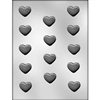 1-1/4 Inch Plain Heart Chocolate Mold