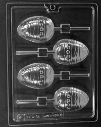 Decorated Egg Lolly Mold