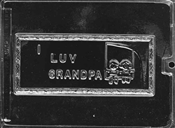 I Luv Grandpa Card Mold