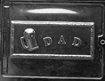 Dad Card Mold