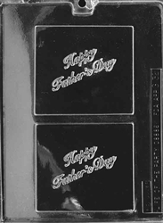 Happy Father's Day Gift Card Mold