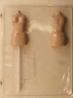 3D Female Mannequin Lolly Chocolate Mold