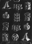 Assorted Halloween with Hat Mold