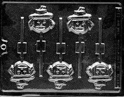 Face Scarecrow Lolly Mold