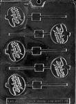 Trick or Treat Pumpkin Chocolate Lolly Mold