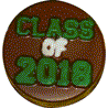 Class of 2018 Sandwich Cookie Chocolate Candy Mold graduation