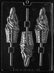 Ice Cream Cone Lolly Chocolate Mold