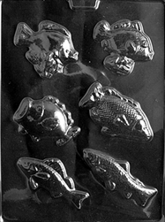 Assorted Fish Chocolate Mold