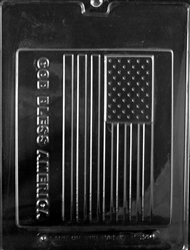 God Bless America Large Flag Mold