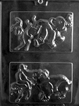 Political Elephant Donkey Mold