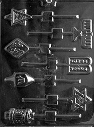 Jewish Lolly Assortment Mold
