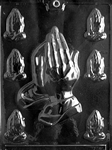 Assorted Praying Hands Mold