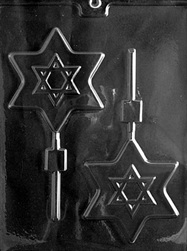 Large Star of David Pop Mold