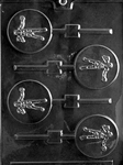 Boxing Lolly Chocolate Mold