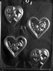 Hearts with Rose or Cupid Mold