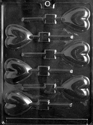 Heart Lolly Mold