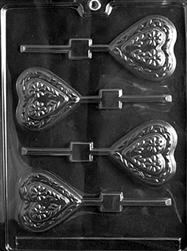 Swiss Heart Lolly Mold