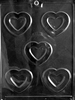 Hollow Hearts Chocolate Mold