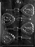 Cupid in Heart Lollipop Chocolate Mold sucker valentine wedding sweetest day anniversary