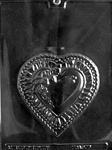 Heart Plaque Chocolate Mold
