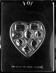 Candy Heart Chocolate Mold