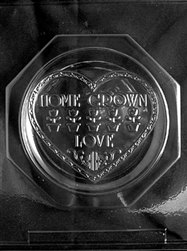 Home Grown Love Plate Chocolate Mold
