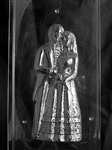 "3D Jumbo 10"" Bride & Groom Chocolate Mold Front wedding anniversary"